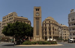 Beirut Lebanon - Downtown Place d etoile Royalty Free Stock Image