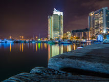Beirut by night Royalty Free Stock Photography