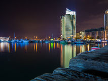 Beirut by night Stock Image