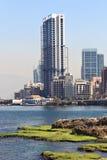 Beirut - rocas de la paloma Fotografía de archivo