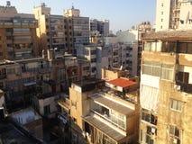 Beirut - rocce del piccione Fotografia Stock Libera da Diritti