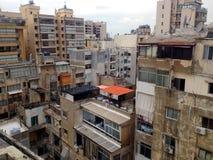 Beirut - rocce del piccione Immagine Stock