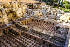 Beirut Roman Baths Site 03 royalty free stock photo