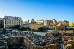 Beirut Roman Forum Ruins 04 royalty free stock photos