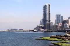 Beirut skyline Stock Images