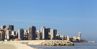 Beirut Skyline(Lebanon) Stock Photo