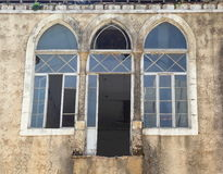 Beirut window and door Royalty Free Stock Images