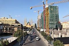 Beirute da baixa Fotos de Stock