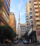 Beirute da baixa, Líbano Fotografia de Stock Royalty Free