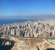 Beirute, Líbano Foto de Stock Royalty Free