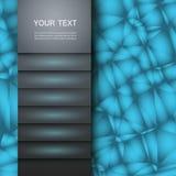 Beispiel einer einfachen Abdeckung Vektordesign eps10 Lizenzfreie Stockfotografie
