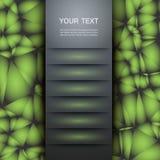 Beispiel einer einfachen Abdeckung Vektordesign eps10 Lizenzfreie Stockfotos