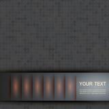 Beispiel einer einfachen Abdeckung Vektordesign eps10 Stockfoto