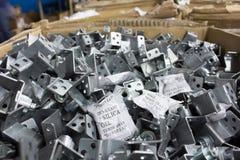Beispiele des Kieselgels verwendet in der Fertigung des Metalls Stockfoto