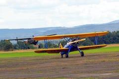 Beispielflugzeuge airshow Stockbild