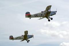 Beispielflugzeuge airshow Stockfotografie