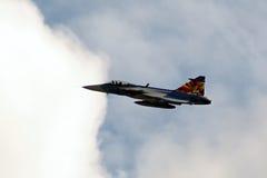 Beispielflugzeuge airshow Lizenzfreie Stockfotografie