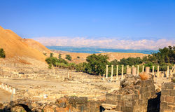 Beit She'an obrazy royalty free