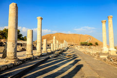 Beit She'an Stock Photo
