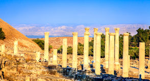Beit She'an Royalty Free Stock Photo