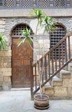 Beit El Set Waseela Waseela Hanem-Huis, Middeleeuws Kaïro, Egypte stock afbeeldingen