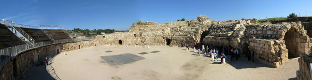 Beit Guvrin Amphitheater Photo libre de droits