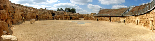 Beit Guvrin Amphitheatre. In Israel Stock Image