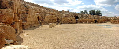 Beit Guvrin Amphitheatre. In Israel Stock Photos