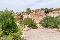 Beit Guvrin-Maresha National Park. View on biblical landscape Beit Guvrin Maresha. Maresha also Marissa is the famous tourist and archaeological site in Israel Stock Images