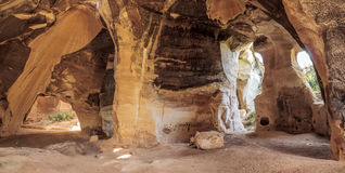 Beit Guvrin National Park. Aand cave, Israel Royalty Free Stock Photo