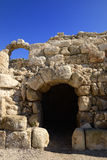 Beit Guvrin. Ruins of ancient castle near Beit Guvrin, Israel Royalty Free Stock Image