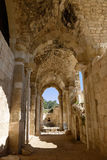 Beit Guvrin. Ruins of ancient castle near Beit Guvrin, Israel Stock Photos