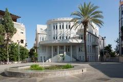 Beit Ha ' ir i Tel Aviv royaltyfria foton