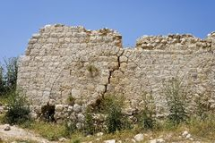 Beit Itab ruins, Israel. Stock Photography
