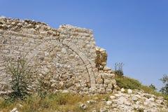 Beit Itab ruins, Israel. Stock Image