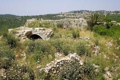 Beit Itab ruins, Israel. Royalty Free Stock Image