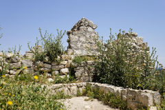 Beit Itab ruins, Israel. Stock Photo