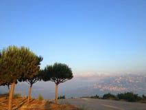 Beit Meri, Berg der Libanon, der Libanon stockfotografie