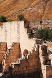 Beit She ' ruines d'un bâtiment Images stock