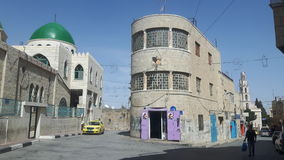 Beit Sahour im Stadtzentrum gelegen stockfotografie