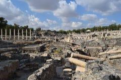Beit SheÂ'an immagine stock libera da diritti