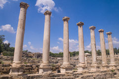 Beit Shean Royalty Free Stock Images