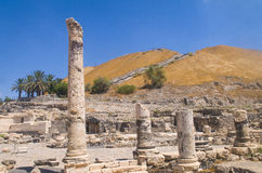 Beit Shean Stock Photo