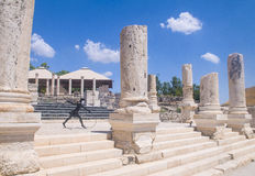 Beit Shean Royalty-vrije Stock Foto's