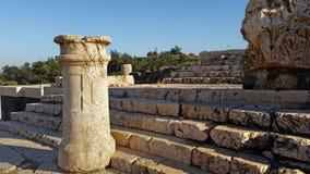 Beit Shean Arkivfoton