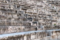 Beit Shean römische Theater-Sitze Lizenzfreies Stockfoto