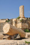 Beit Shean ruins. Royalty Free Stock Image