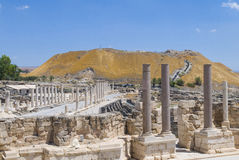 Beit Shean Stock Image