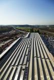 SolarEinkaufszentrum Lizenzfreie Stockfotos