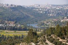 Beit Zayit, Jérusalem Photos libres de droits